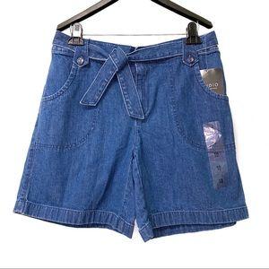 🆕 Liz Claiborne Denim Summer Shorts